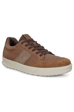 ecco sneakers byway met lichte loopzool bruin