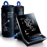 braun bovenarm-bloeddrukmeter exactfit™ 5 connect bua6350 met 2 manchetformaten (22-42 cm) zwart