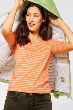 street one shirt met 3-4-mouwen oranje