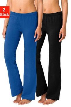 basic legging, set van 2, vivance blauw