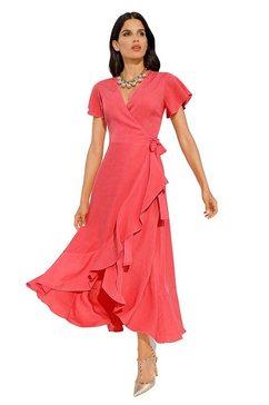 ashley brooke by heine wikkeljurk jurk rood