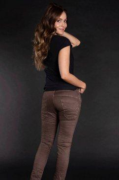 please jeans boyfriendbroek »p 78a« bruin
