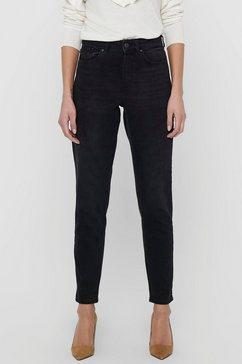 only mom jeans onlveneda life mom jeans zwart