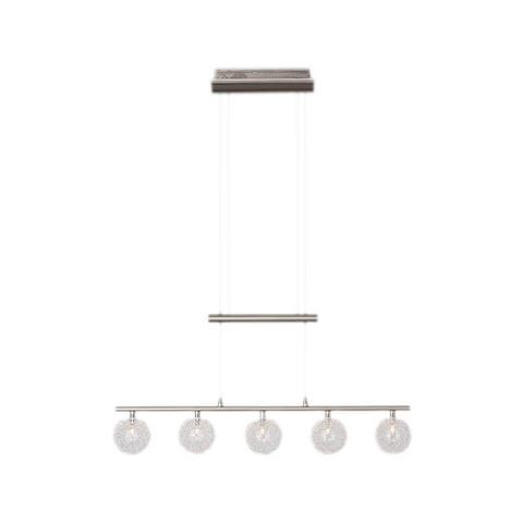 BRILLIANT Halogeen-hanglamp BELIS met 5 fittingen