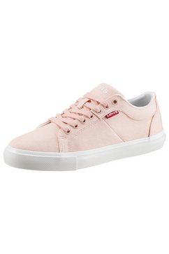 levi's sneakers woodward s met merk roze