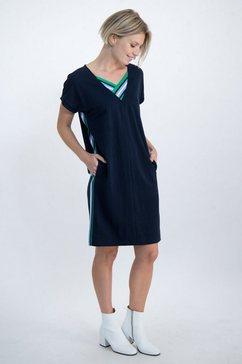 garcia jersey jurk blauw