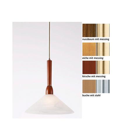 LAUE Houten hanglamp met 1 fitting