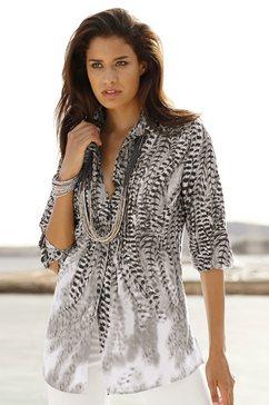 blouse zilver