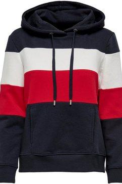 only hoodie onlpine blauw