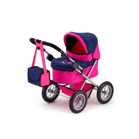 BAYER DESIGN Poppenwagen Trendy pink-blauw
