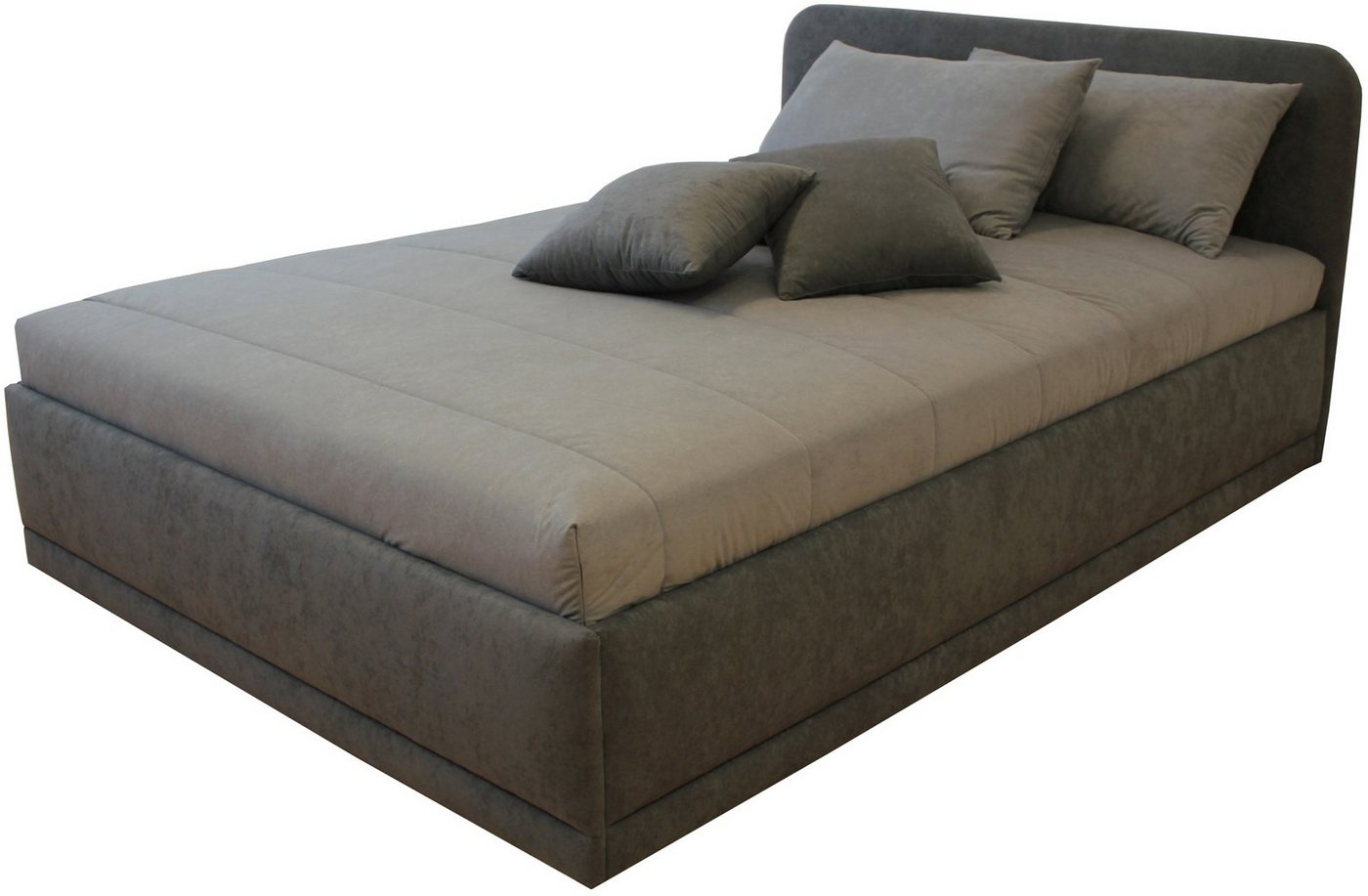 Bed met micro-velours