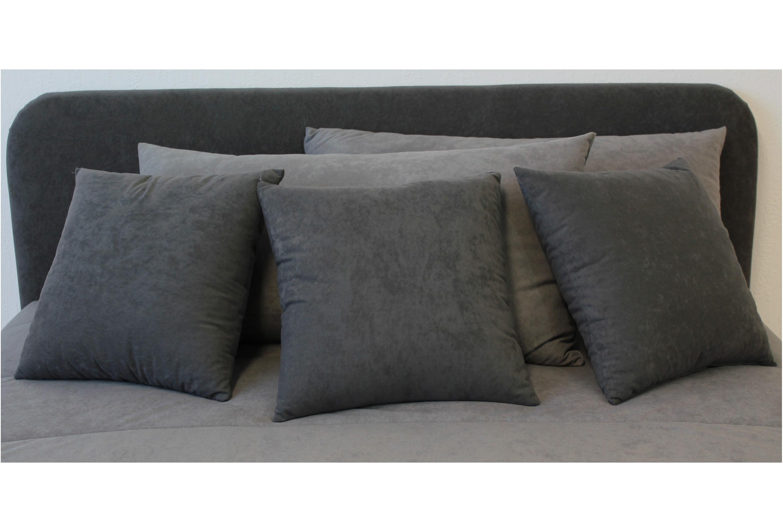 sierkussens groot sierkussen in stof x beige taupe orange. Black Bedroom Furniture Sets. Home Design Ideas