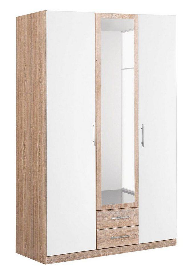 Wimex garderobekast met spiegeldeur en laden