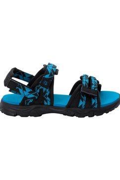 jack wolfskin outdoorsandalen 2 in 1 sandal k blauw