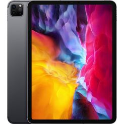 apple »ipad pro 11.0 (2020) - 256 gb cellular« tablet grijs