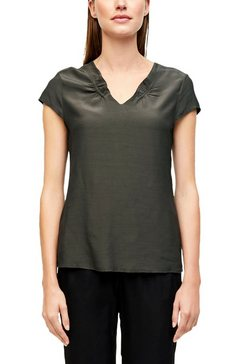 s.oliver black label blouse zonder sluiting