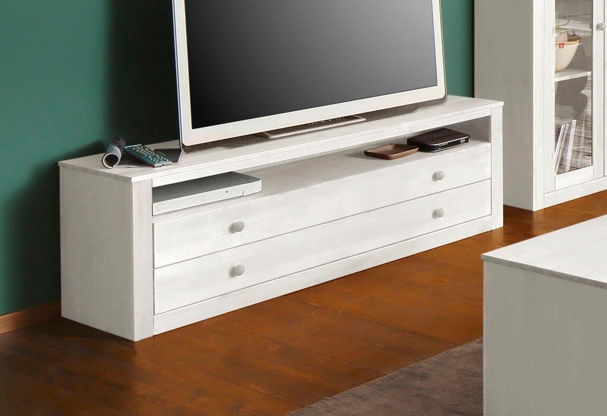 Home affaire tv-meubel Agave van massief grenen, tv-tafel bestellen: 30 dagen bedenktijd