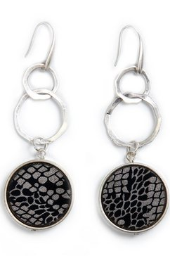 collezione alessandro oorhangers »o2842-f01« zwart