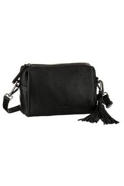 fredsbruder schoudertas puk in een eenvoudige look zwart