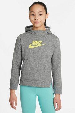 nike sportswear hoodie girls nike sportswear pullover grijs