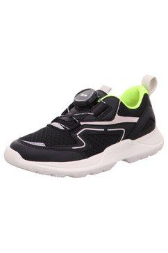 superfit sneakers rush wms wijdtemaatsysteem: middel met coole snelsluiting zwart