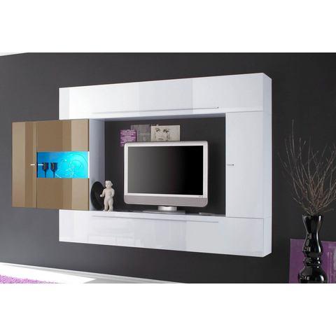 TV-mediawand breedte 272 cm 4-delig