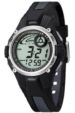 calypso watches chronograaf »digital crush, k5558-6« zwart