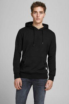 jack  jones hoodie basic sweat hood zwart