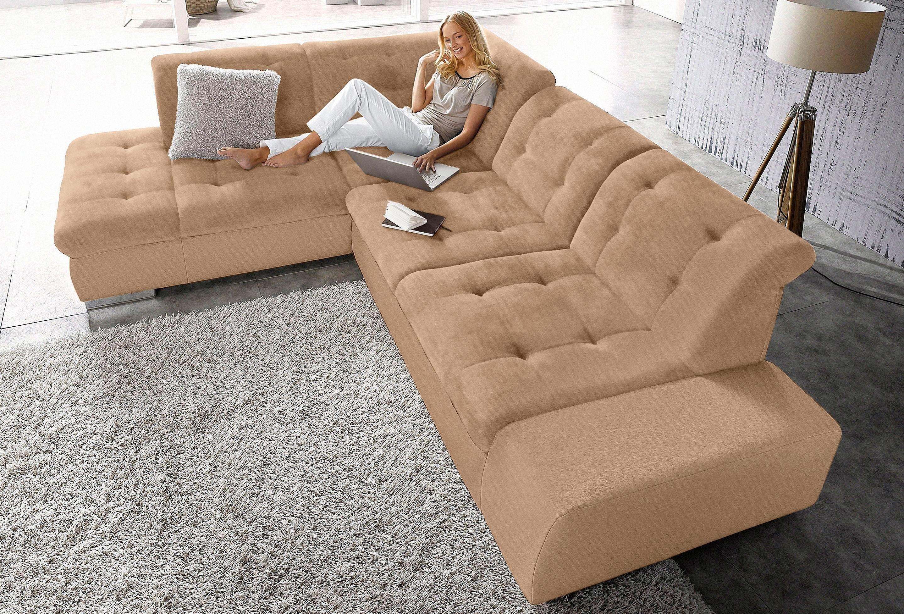 Op zoek naar een sit&more Hoekbank met comfortabele verstelbare rugleuning? Koop online bij OTTO