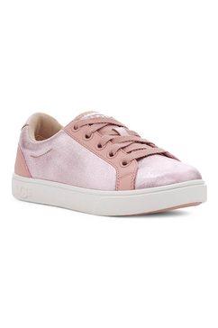 ugg sneakers zilo in metallic-look roze