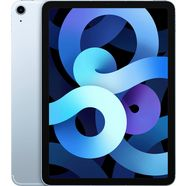 "apple tablet ipad air (2020) wi-fi 64gb, 10,9 "", ipados, inclusief oplader blauw"