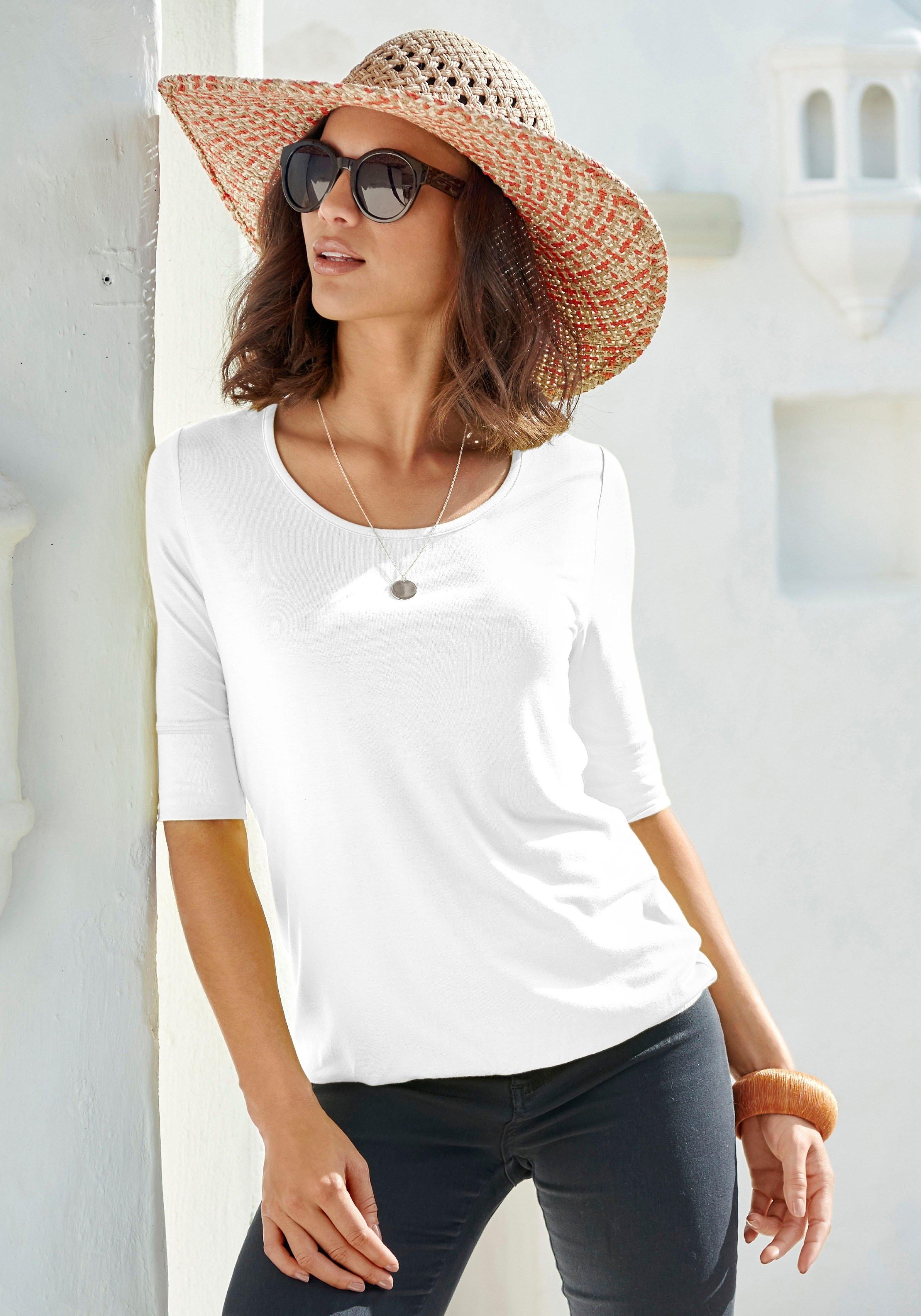 Lascana shirt met 3/4-mouwen bestellen: 30 dagen bedenktijd