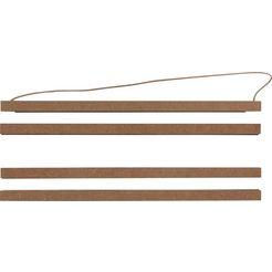 reinders! fotolijstje click frame wood 31,5 cm click wood frame - 31,5 cm bruin