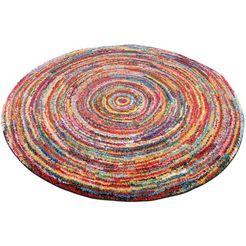oci die teppichmarke vloerkleed sixteen round woonkamer multicolor