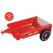 big kindervoertuig-aanhanger big-bobby-caddy, rood made in germany rood