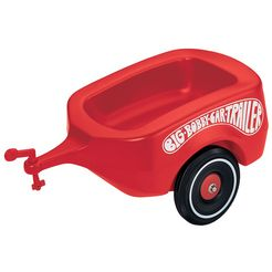 big aanhanger, »big-bobby-car-trailer« rood