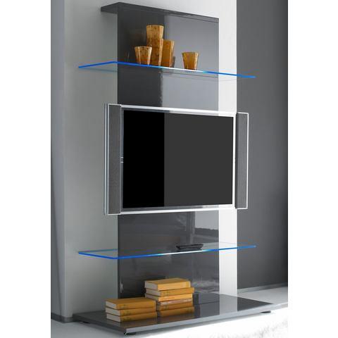 TV-meubel met 2 glasplateaus