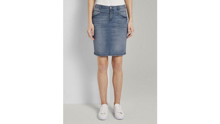 Tom Tailor jeansrok Eenvoudige jeansrok