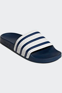adidas originals badslippers »adilette« wit