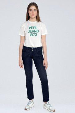 pepe jeans straight jeans zwart