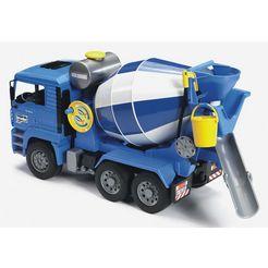 bruder betonmixer man tga blauw