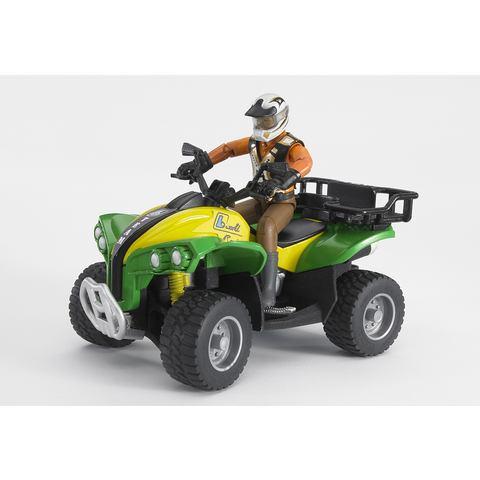 BRUDER® Quad met bestuurder