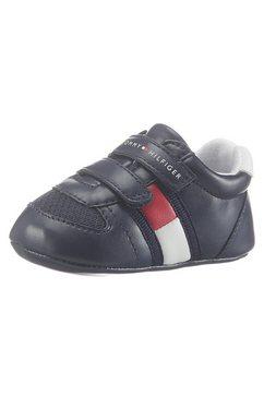 tommy hilfiger babyschoentjes met een dubbele klittenbandsluiting blauw