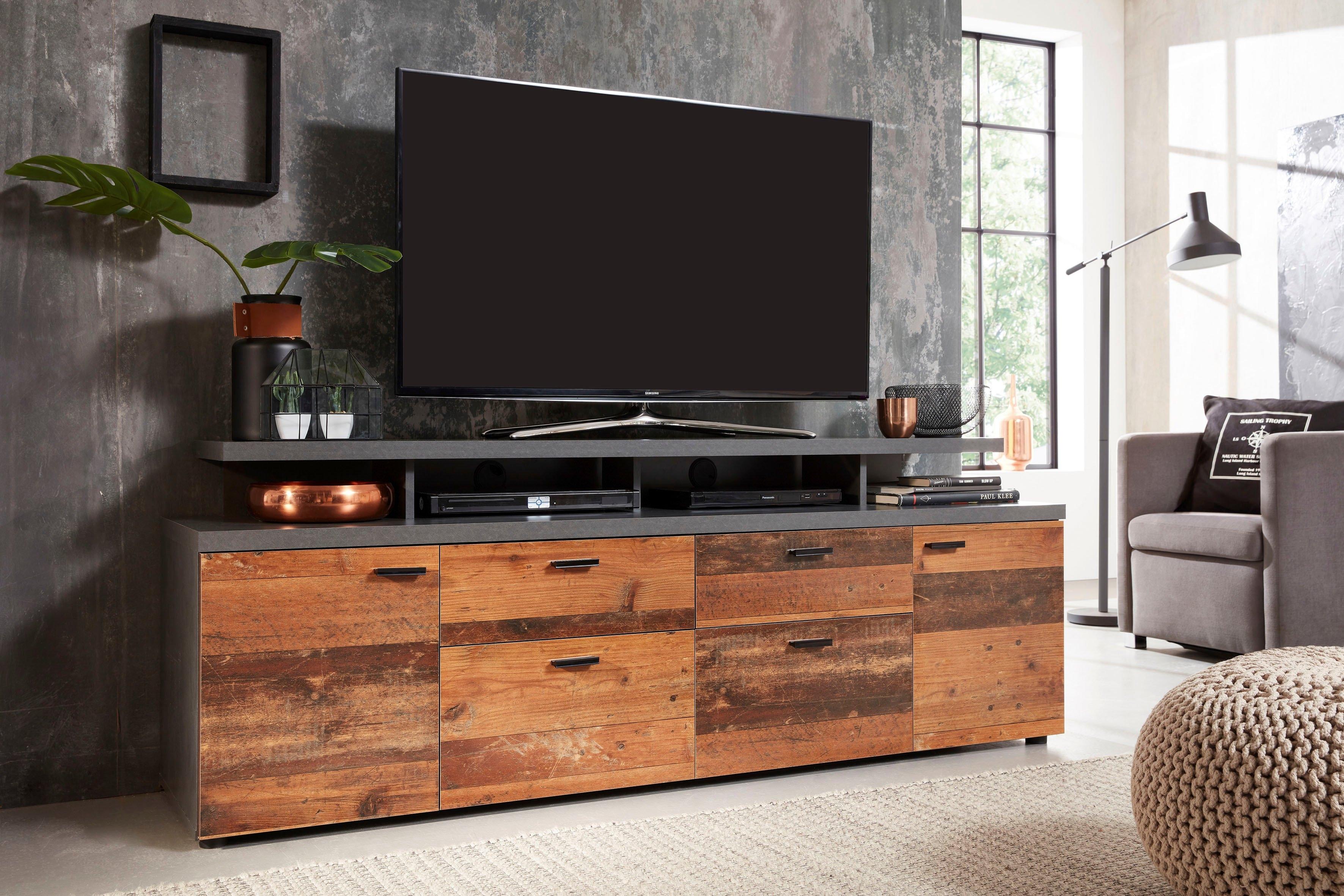trendteam tv-meubel Mood Tv-podium met open vakken (2 stuks) voordelig en veilig online kopen