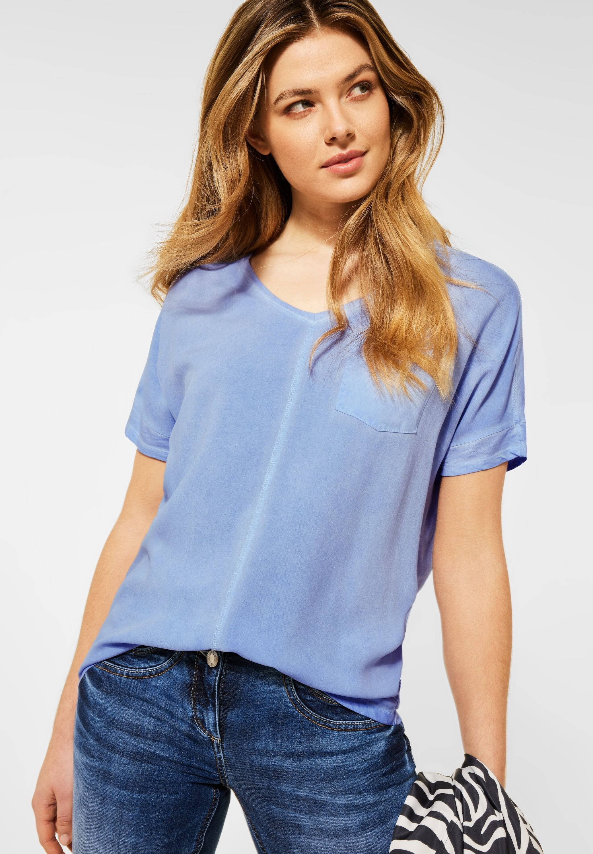 Cecil shirt met V-hals Feel Good fit bestellen: 30 dagen bedenktijd