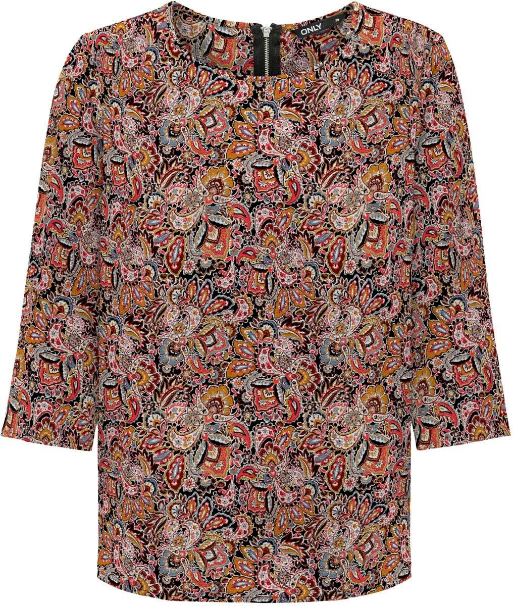 ONLY gedessineerde blouse »ONLNOVA« - verschillende betaalmethodes