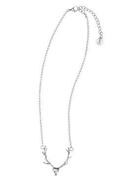 luise steiner ketting met hanger met een hertmotief - made in austria zilver