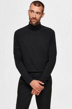 selected homme coltrui »berg roll neck« zwart
