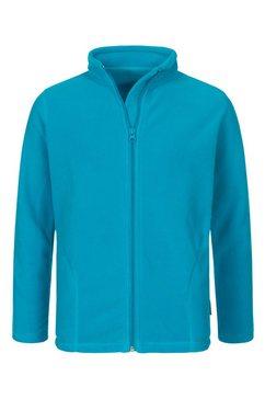 stedman fleece jacket kids active fleecejack »met uitstekende warmte-isolatie« blauw
