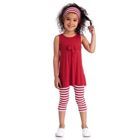NU 15% KORTING: Set: jurk, legging en haarband, Kidoki